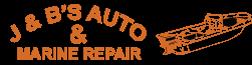 J&B's Auto & Marine Repair Logo